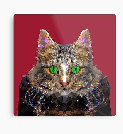 Imperial Boss cat Metal Print