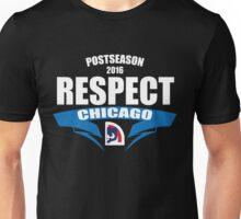 Respect Chicago Cubs T-Shirt - Postseason Clincher 2016 - Cubs Respect  Unisex T-Shirt