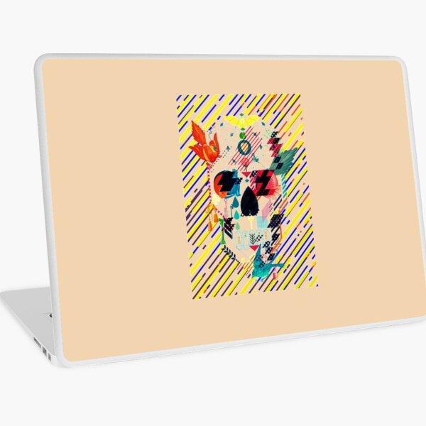 Abstract Skull Laptop Skin