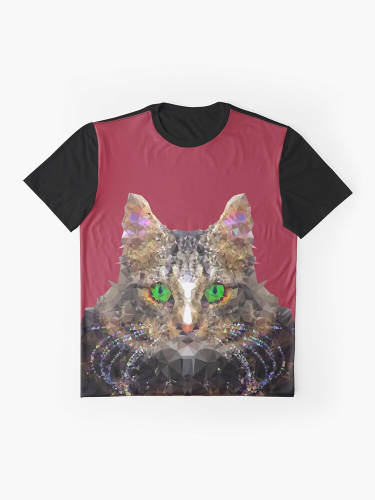 Alternate view of Imperial Boss cat Graphic T-Shirt