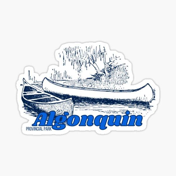 Algonquin Provincial Park - Ontario Canada (Style 3) Sticker
