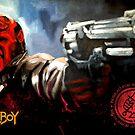 Hellboy by Marcus Hislop