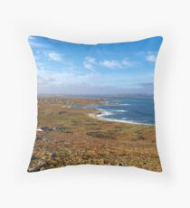Donegal, Ireland Coast Throw Pillow