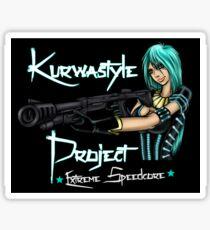 Kurwastyle Project - Extreme Speedcore Sticker