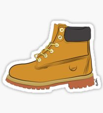 Big Tan Boots Sticker