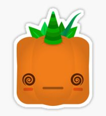 Lost Jock O'Lantern Pumpkin Sticker
