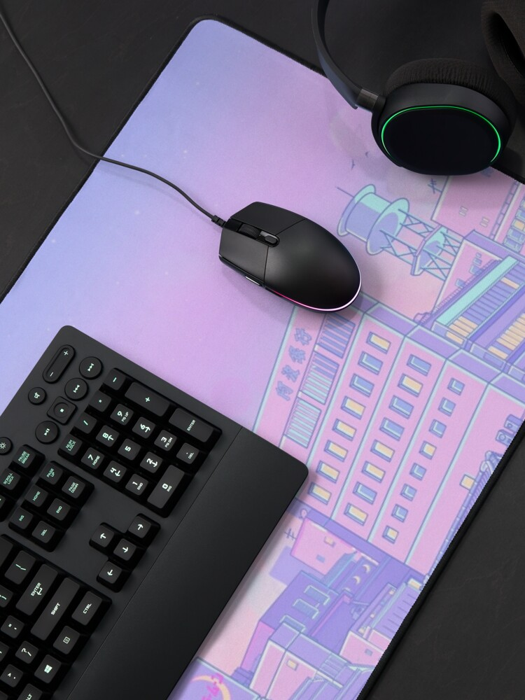 Alternate view of Sailor city Mouse Pad