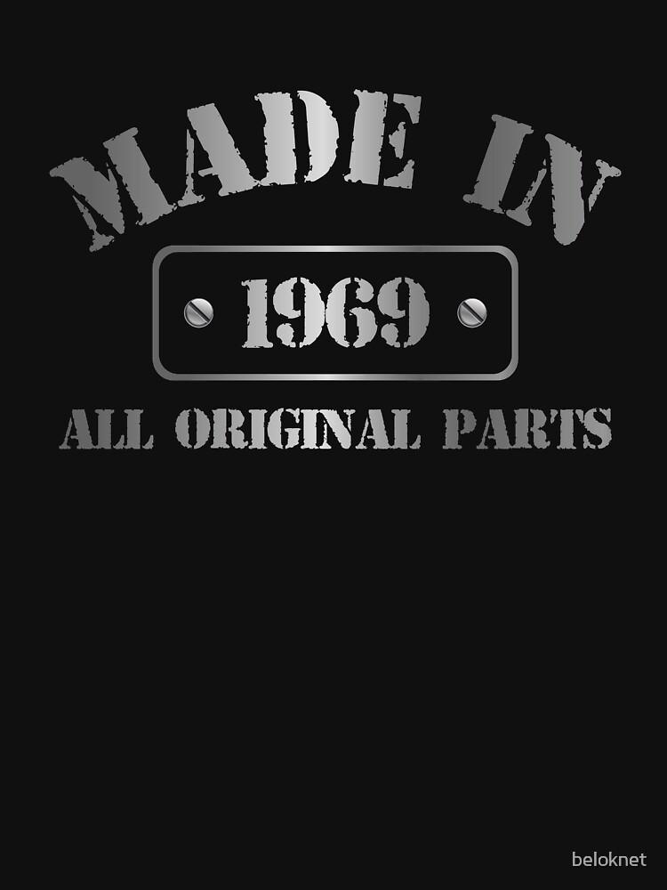 Made in 1969 by beloknet
