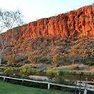 Glen Helen Cliffs by Deirdreb