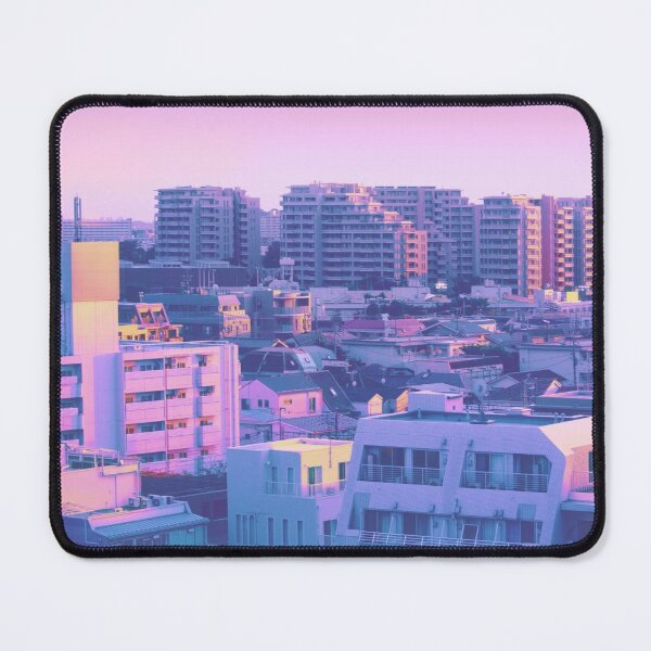 Tokyo Morning Colors Mouse Pad