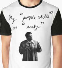 """My """"people skills"""" are """"rusty"""" Graphic T-Shirt"""