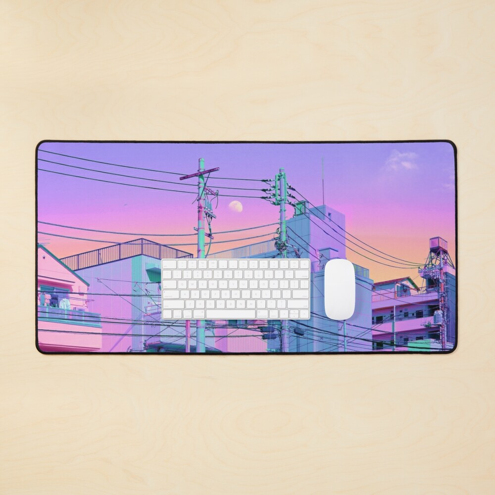 5PM in ethereal Tokyo Mouse Pad