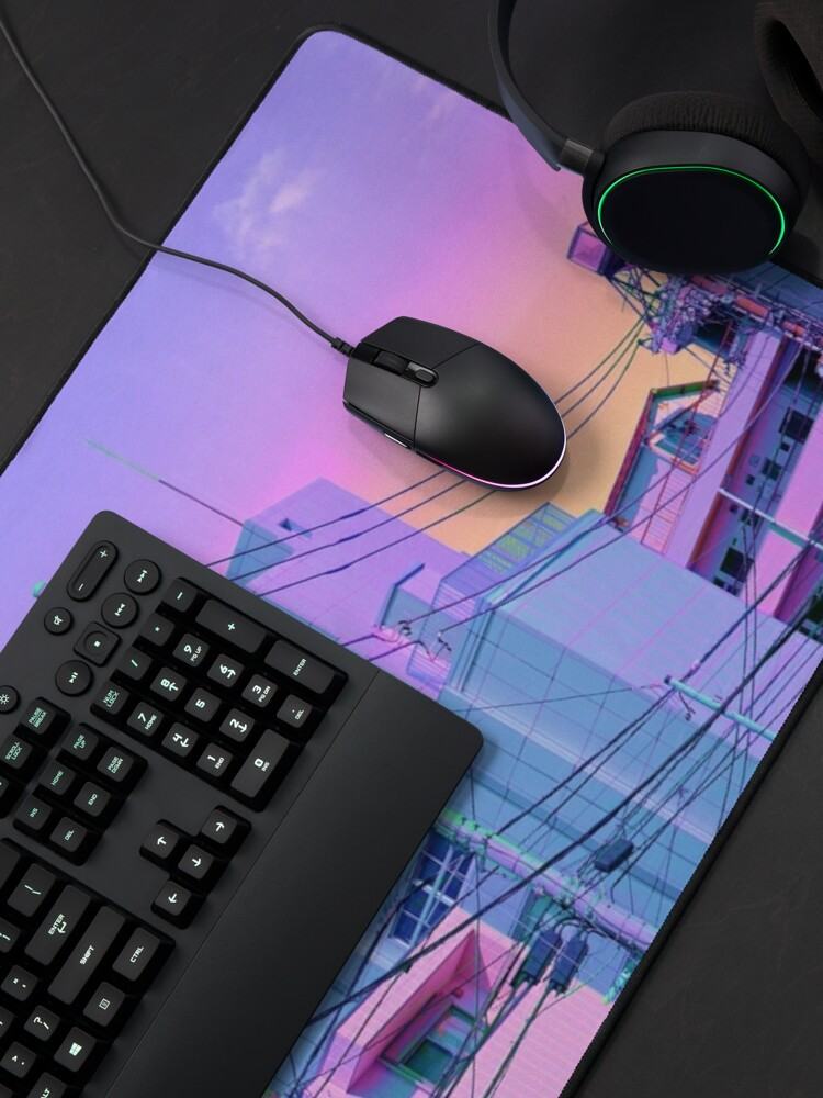 Alternate view of 5PM in ethereal Tokyo Mouse Pad