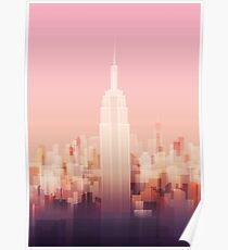 New york Empire state building Poster