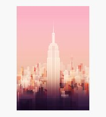 New york Empire state building Photographic Print