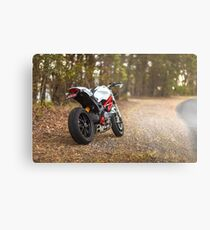 Ducati Monster 796 Rear View Metal Print