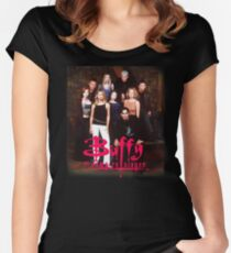 Horror Movie  Buffy Women's Fitted Scoop T-Shirt