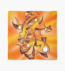 Abstract digital art - Abugila V4 Scarf