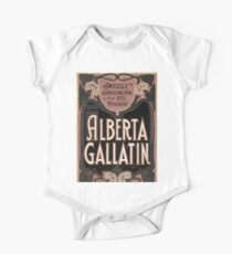 Sweely Shipman and Co present Alberta Gallatin - US Litho - 1903 Kids Clothes