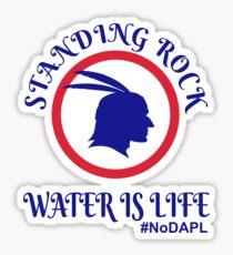 Standing Rock Water is Life Sticker