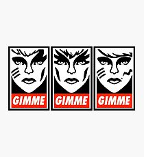 Gimme Misfits Photographic Print