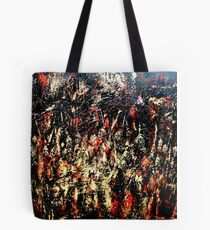 ABSTRACT ARMY OF DARKNESS Tote Bag