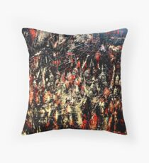 ABSTRACT ARMY OF DARKNESS Throw Pillow