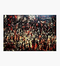 ABSTRACT ARMY OF DARKNESS Photographic Print