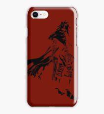 Vincent Valentine Minimalist Red iPhone Case/Skin