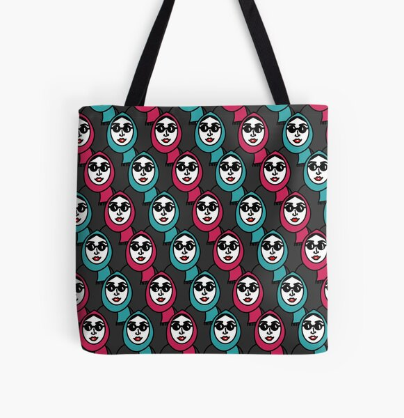 Moosleemargh Imprimer Tote bag doublé