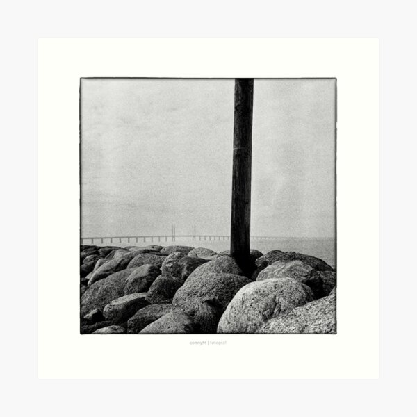 the Öresund bridge Art Print