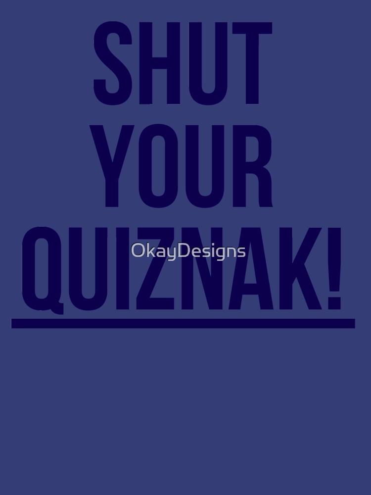 Voltron - Quiznak! by OkayDesigns