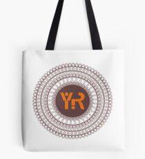 Yoga Rhythms Mandala Logo Tote Bag