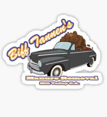 Biff's Manure Removal Services Sticker