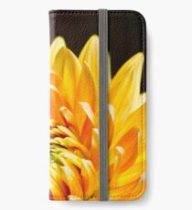 Bright Yellow Chrysanthemum iPhone Wallet/Case/Skin