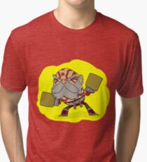 Brawlhalla - Wu Shang the Breaker Tri-blend T-Shirt