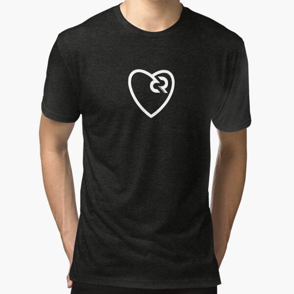 Decred heart © v1 (Design timestamped by https://timestamp.decred.org/) Tri-blend T-Shirt
