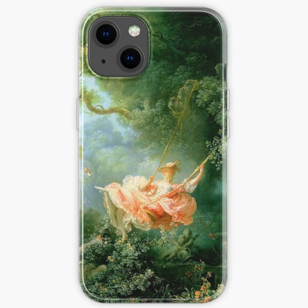 fragonard The lucky chances of the swings iPhone Soft Case