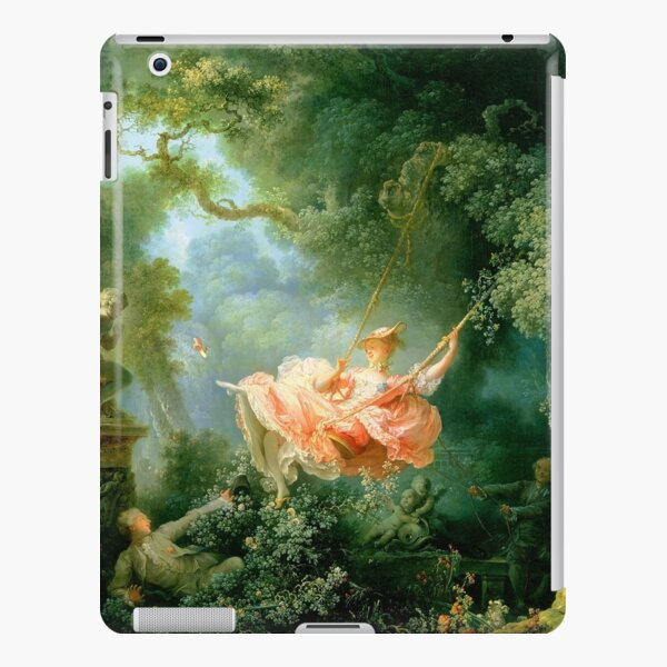 fragonard The lucky chances of the swings iPad Snap Case