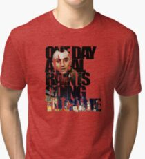 Taxi Driver - Quote Tri-blend T-Shirt