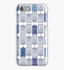 Tardis Tardis Tardis iPhone Case/Skin