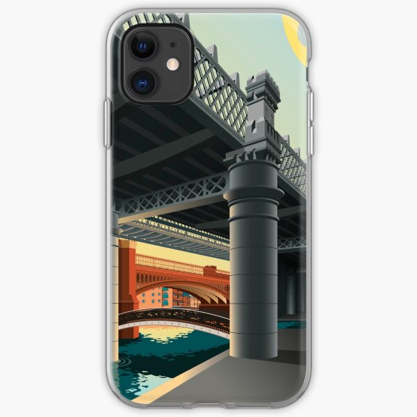 Castlefield, Manchester iPhone Soft Case