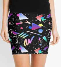 HELLO MEMPHIS (black) Mini Skirt