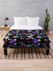 HELLO MEMPHIS (black) Throw Blanket
