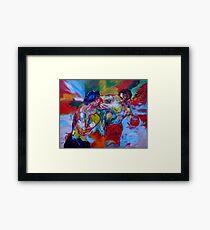 Rocky V Apollo Framed Print