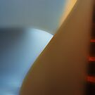 Dark Stairs and the soft Light at the Museum of Design by Imi Koetz