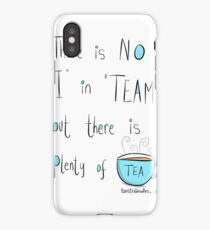 Putting the Tea into team iPhone Case
