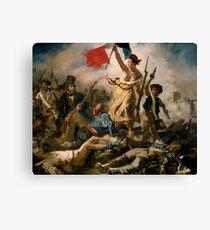Liberty guiding the people 'Eugène Delacroix Canvas Print