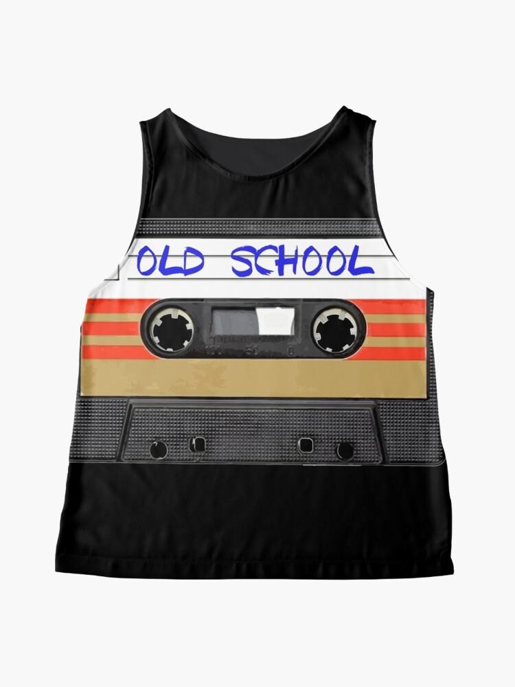 Vista alternativa de Blusa sin mangas Musica de la vieja escuela