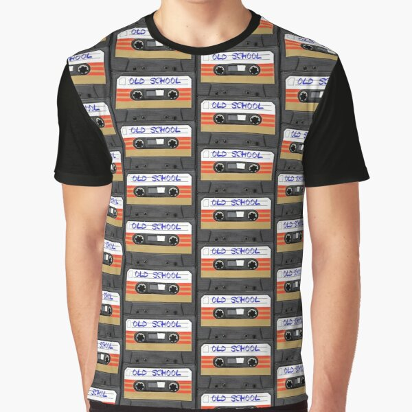 Musik der alten Schule Grafik T-Shirt